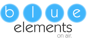 blue elements logo